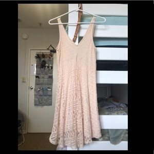 Forever 21 blush colored dress